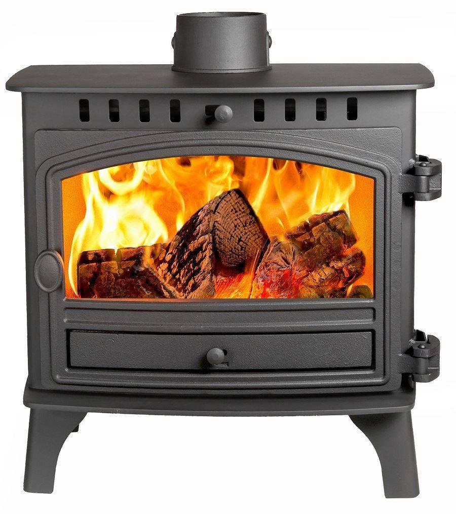 Hunter Herald 8 Slimline Flat Top Wood Burning Stove With