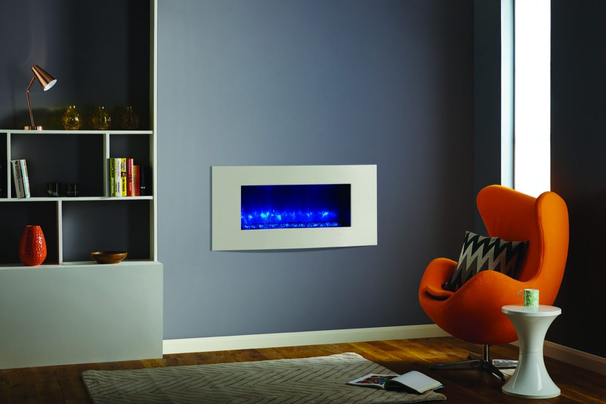 radiance 85r verve xs in ivory moved wall and black glass beads