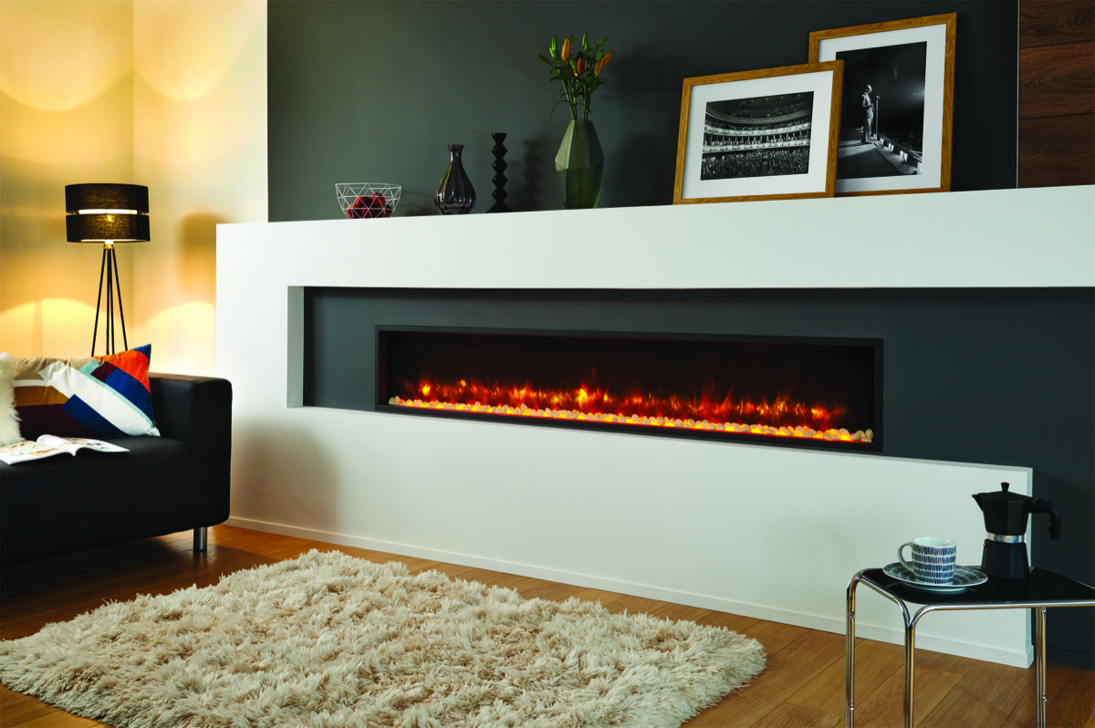 Gazco Radiance 195r Edge Inset Electric Fire Simply Stoves