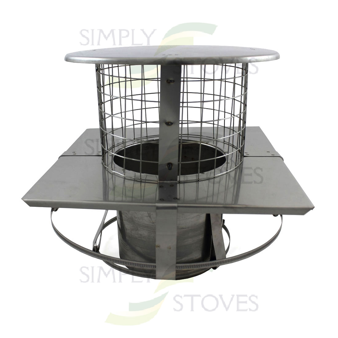 5 Quot 125mm Square Stainless Steel Suspending Pot Hanging