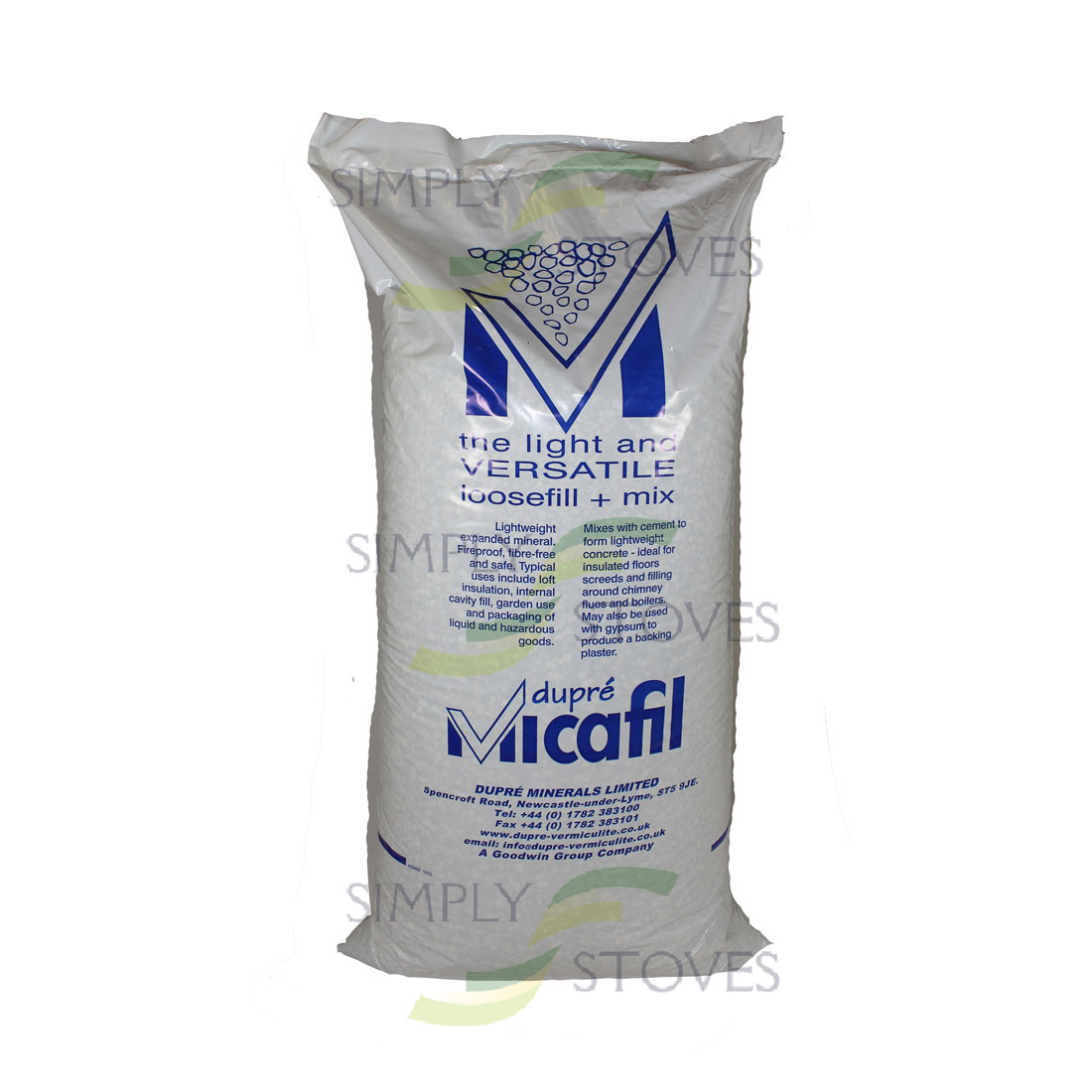 Vermiculite Chimney Liner Insulation 100l Bags Simply