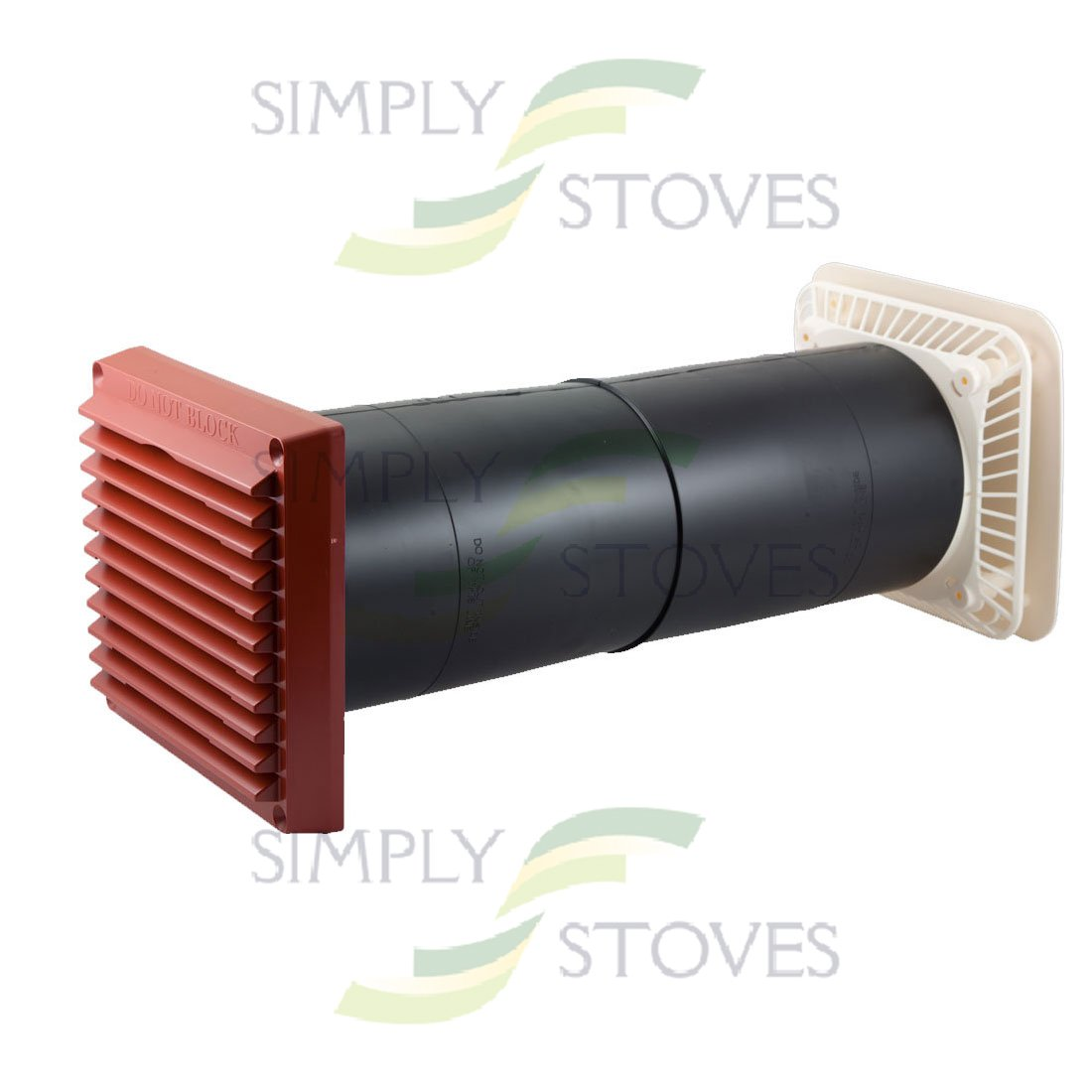 Aircore Vent Terracotta White Simply Stoves