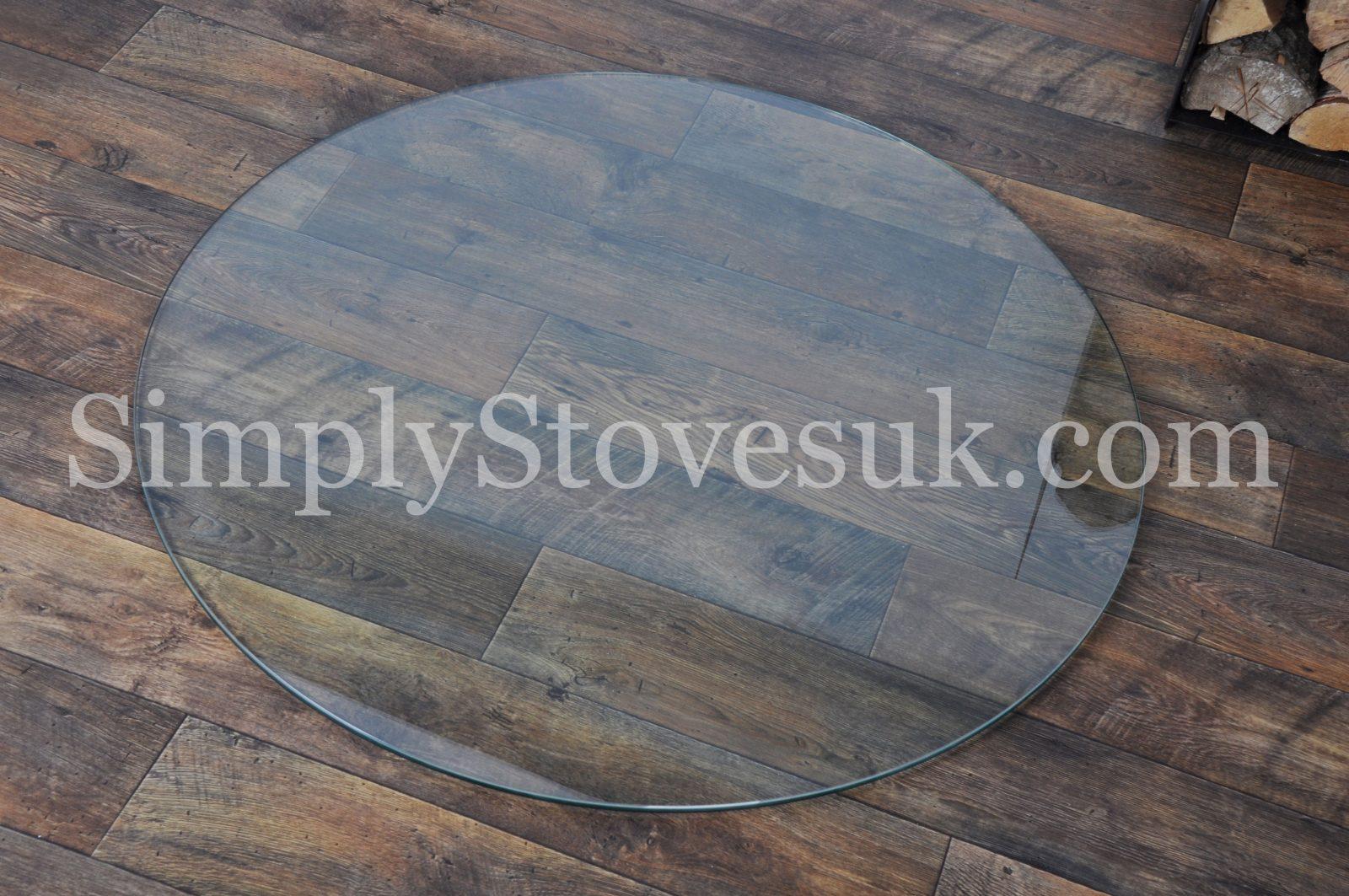 Circular Glass Hearth Floor Plate Simply Stoves