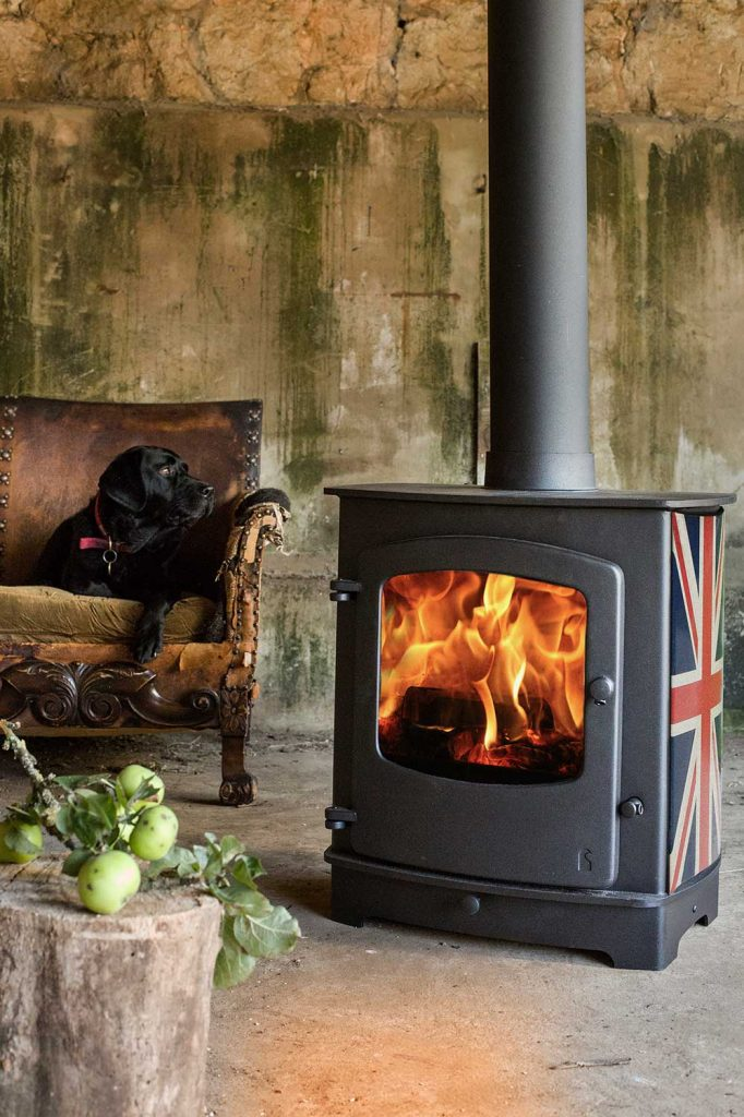 Charnwood Cove 2b Multi Fuel Boiler Stove With Low Arch