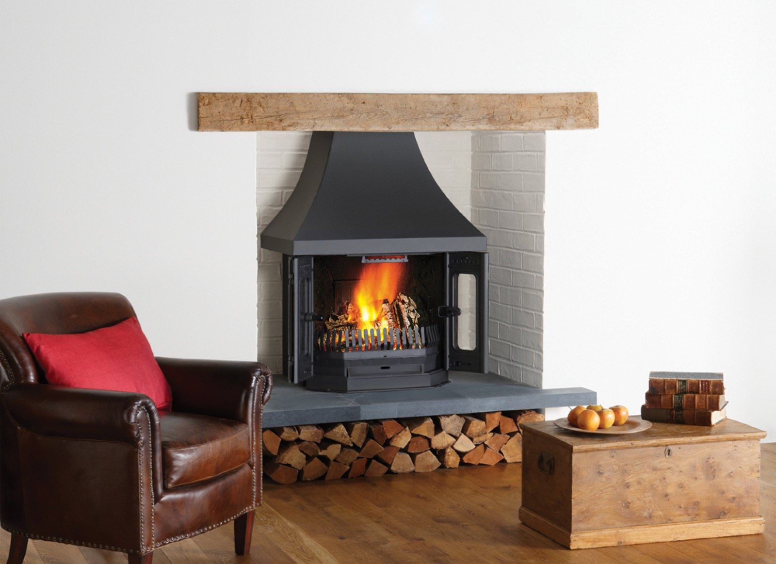 Dovre 2700 Wood Burning Insert Fireplace Simply Stoves