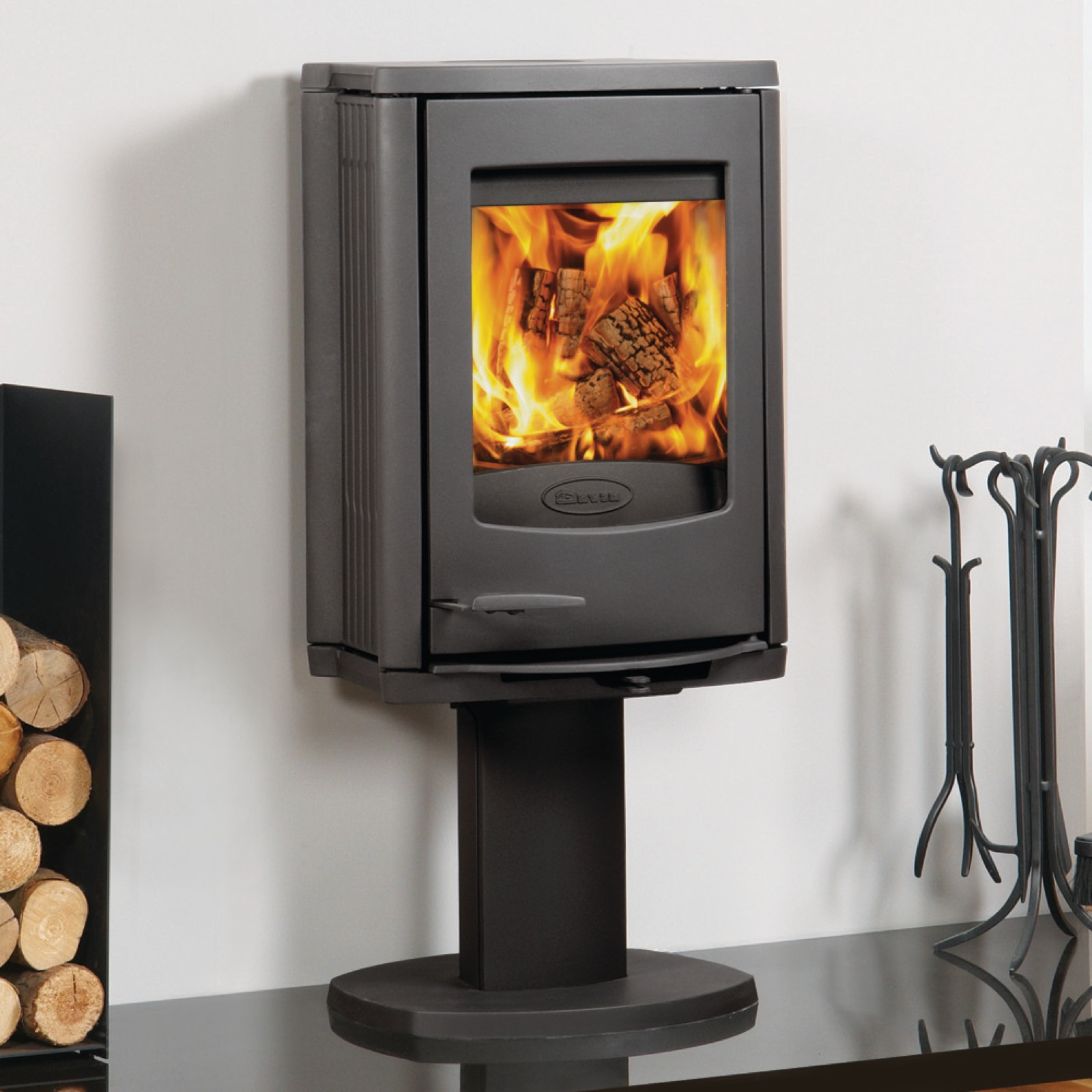 Dovre Astroline 2cb Wood Burning Stove With Pedestal In