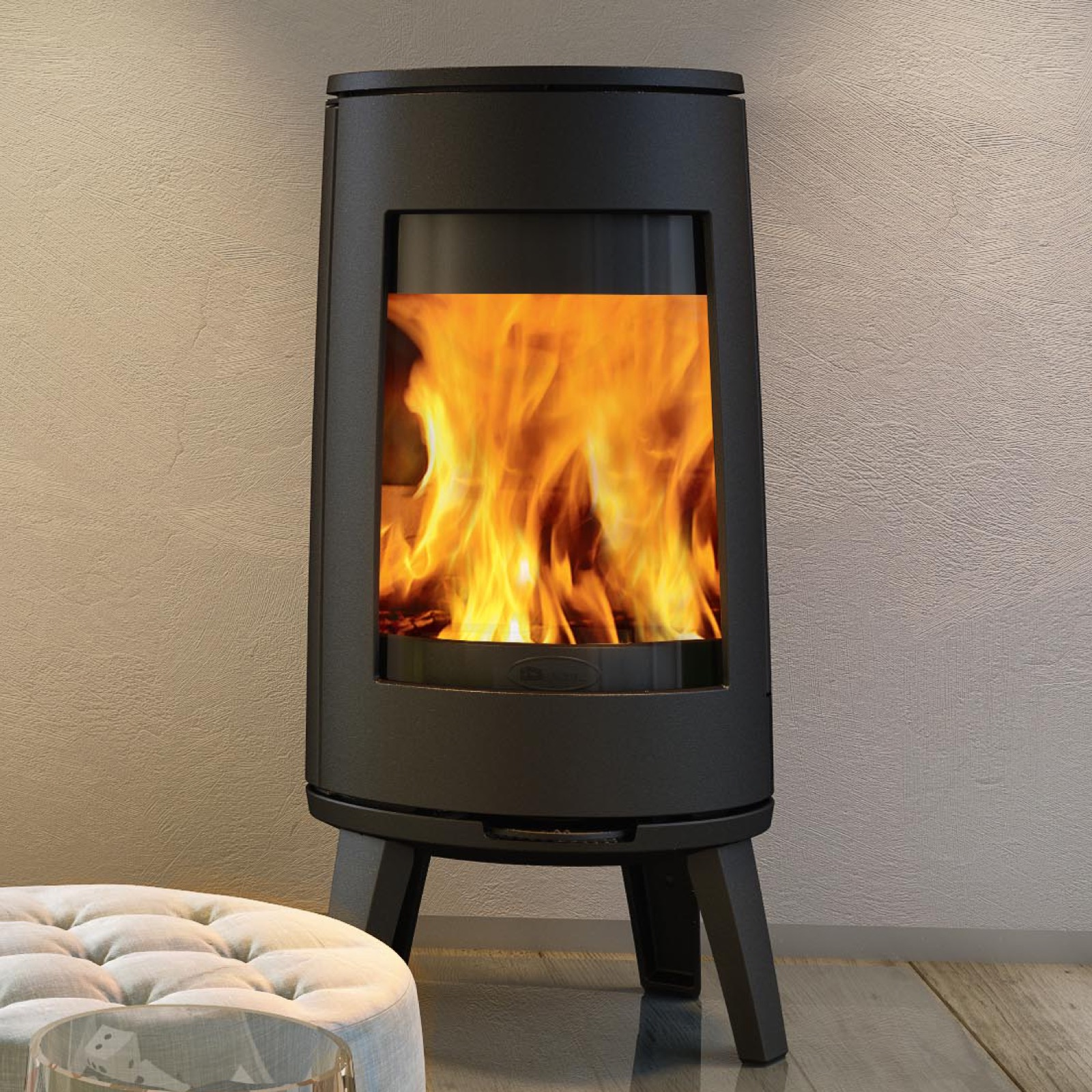 Dovre Bold 300 Wood Burning Stove With Legs Simply Stoves