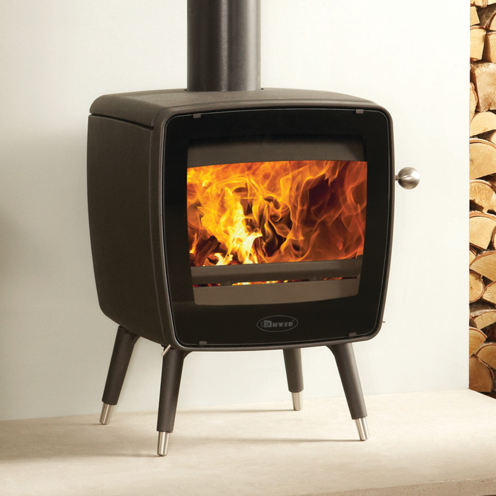 Dovre Vintage 35 Wood Burning Stove With Legs Simply Stoves