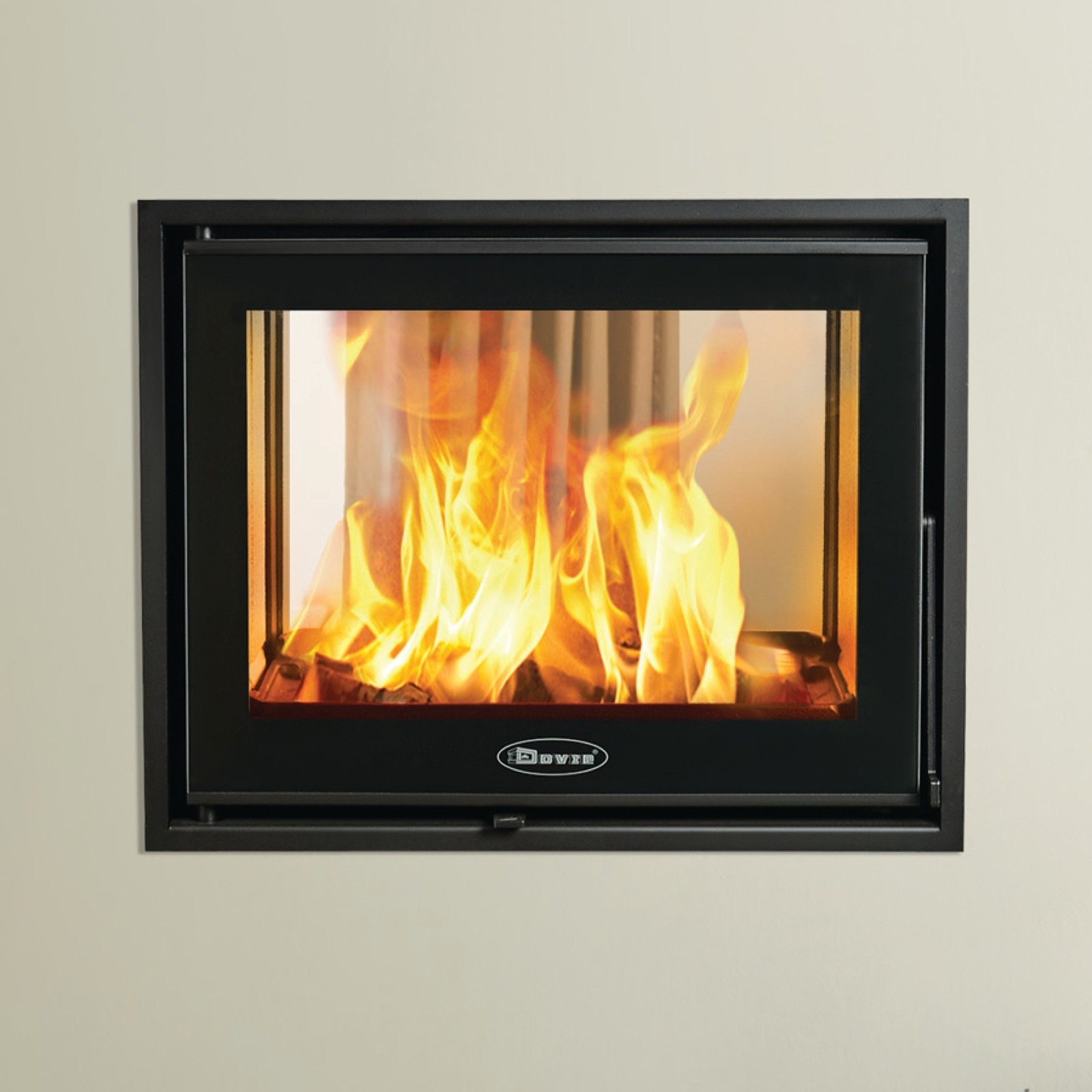 Dovre Zen 102 Double Sided Wood Burning Inset Cette Stove Simply Stoves