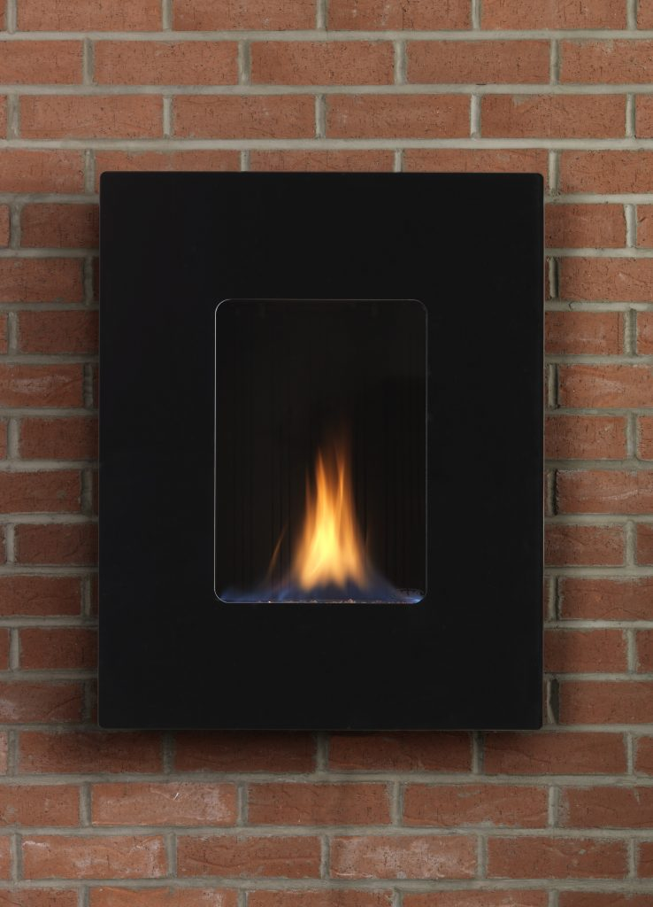 Esse 39 Quot Firewall Flueless Gas Fire With Steel Front