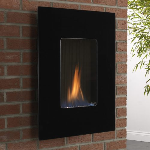 esse 39 firewall flueless gas fire with steel front. Black Bedroom Furniture Sets. Home Design Ideas