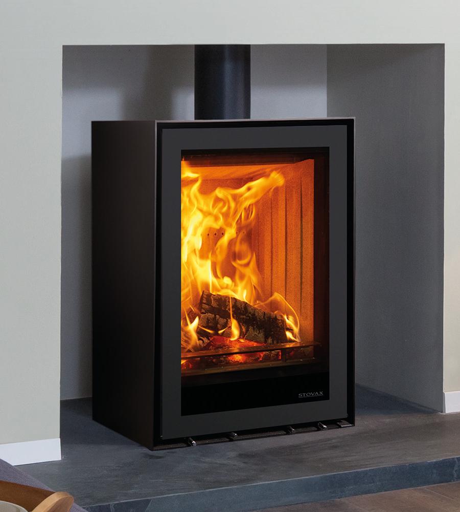 Freestanding Stovax Elise Steel 540t Woodburning Stove