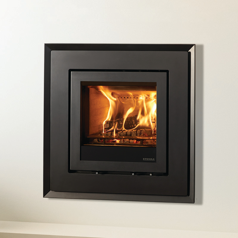 Evoke Steel 4 Sided Frame for the Stovax Elise 540 - Simply Stoves