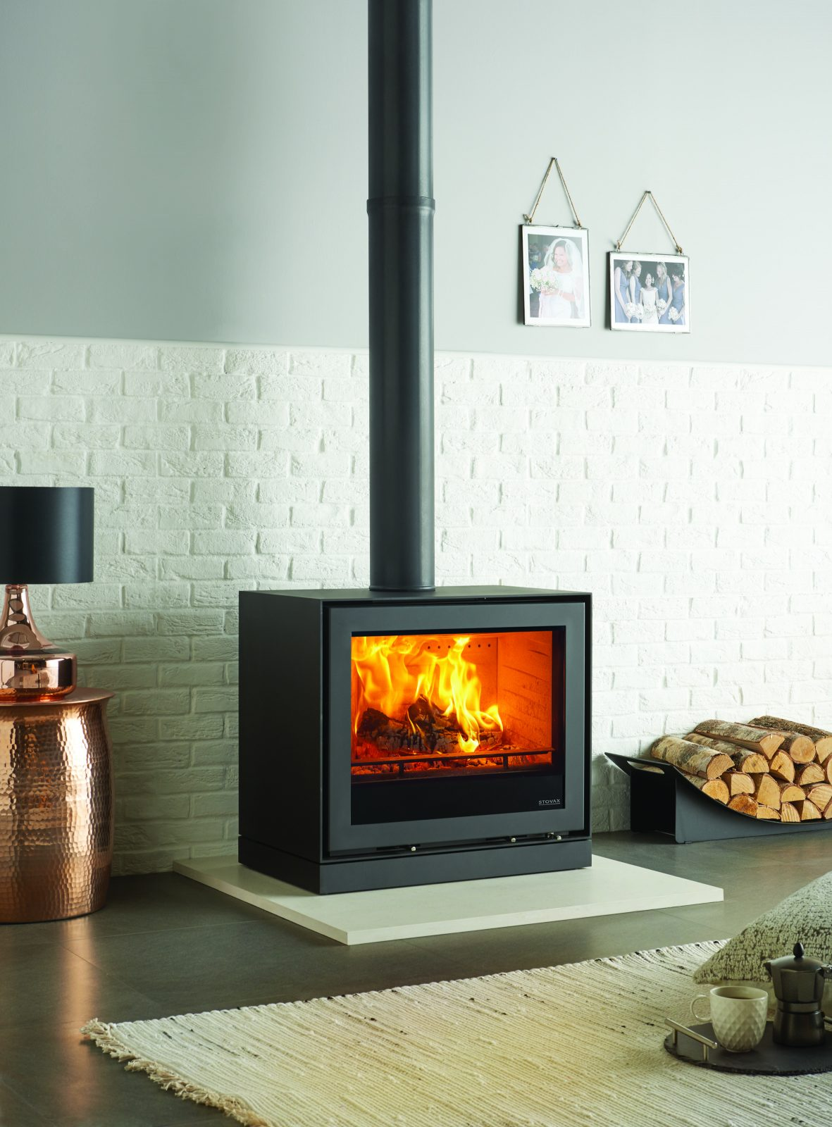 Freestanding Stovax Elise Steel 680 Woodburning Stove Simply Stoves
