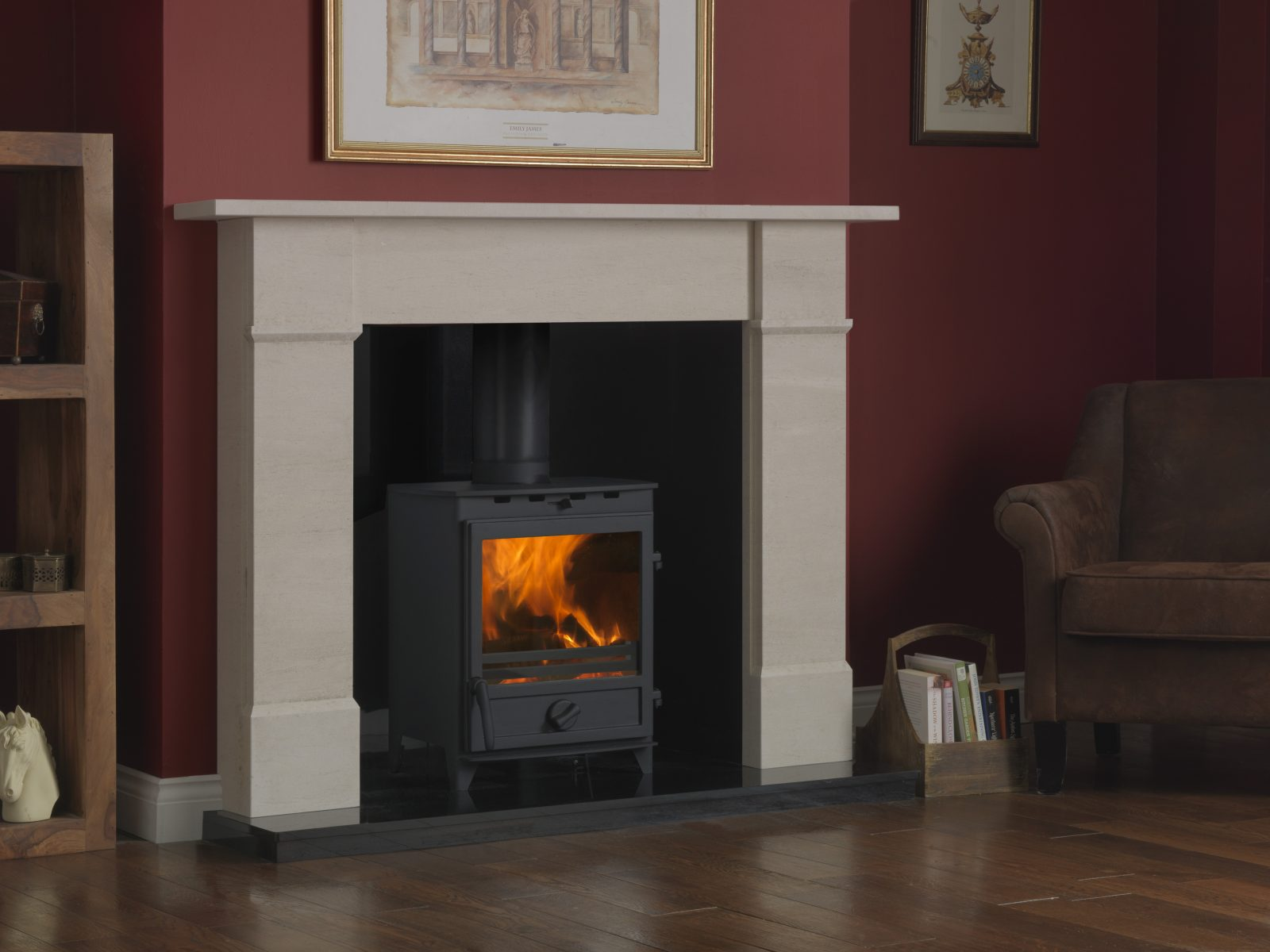 Fireline 8kw Multifuel Stove With Square Door Simply Stoves