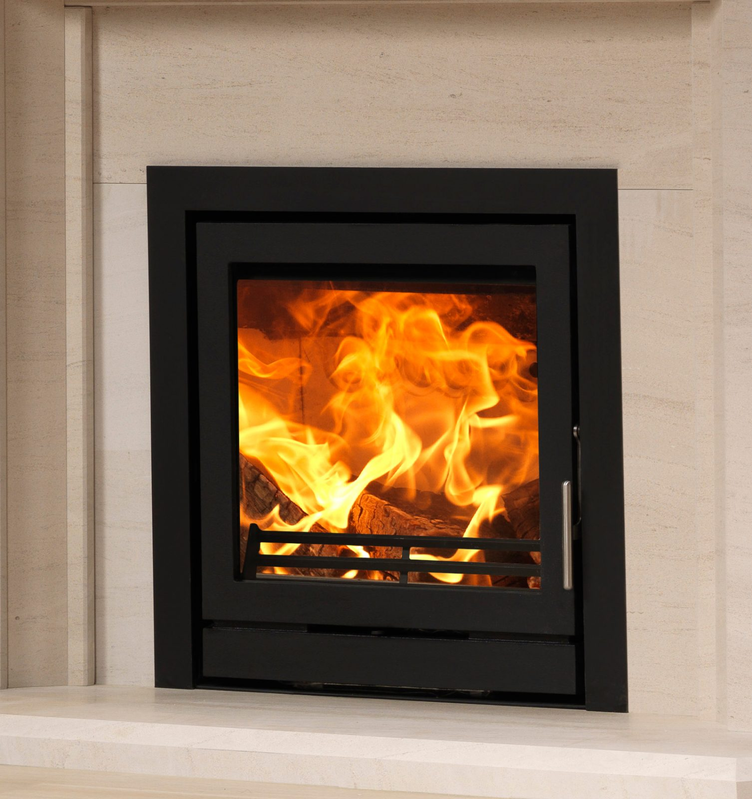 Fireline 5kw Wide Multifuel Inset Stove Engine Simply Stoves