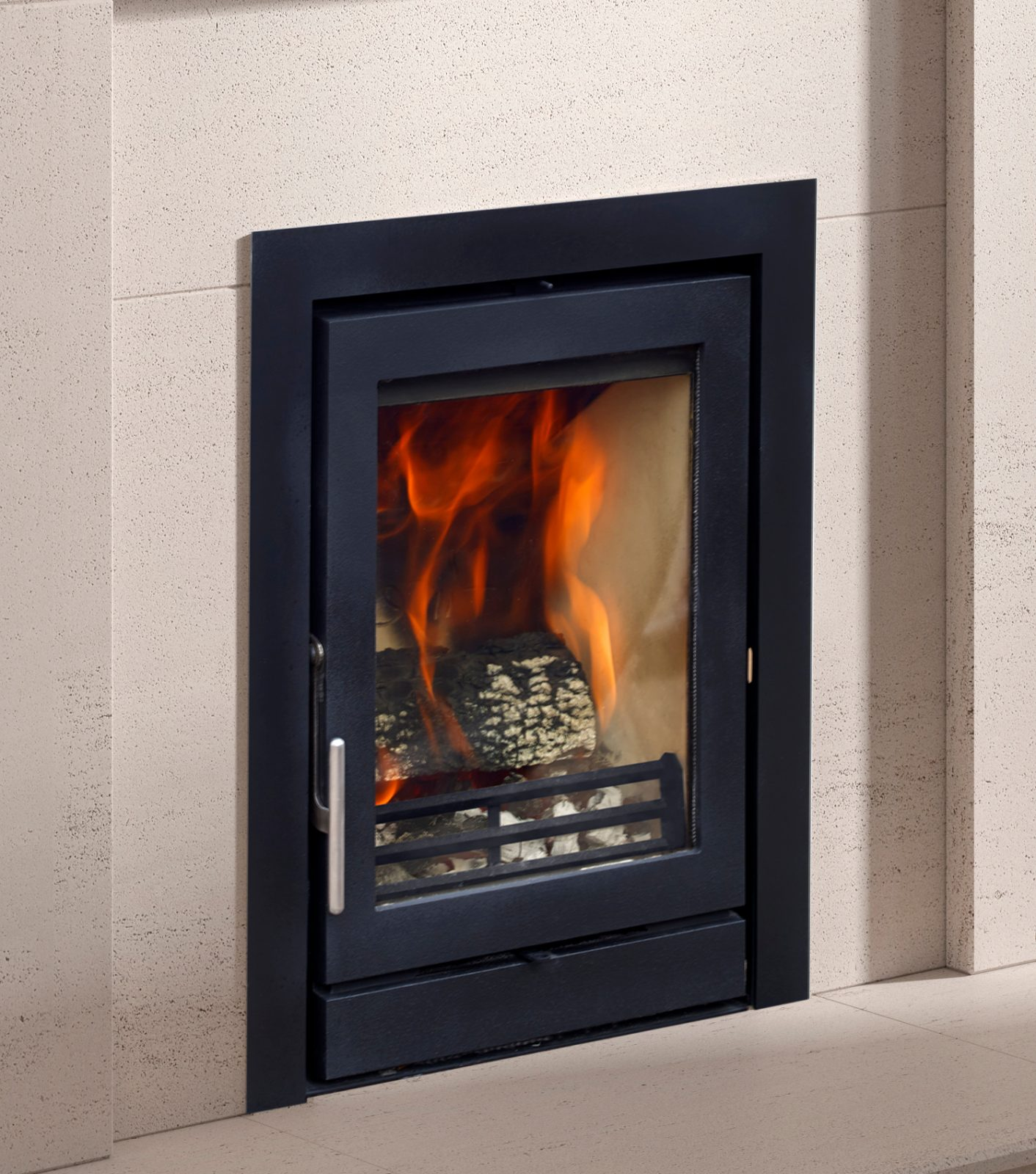 Fireline 5kw Multifuel Inset Stove Glass Door Engine Simply Stoves