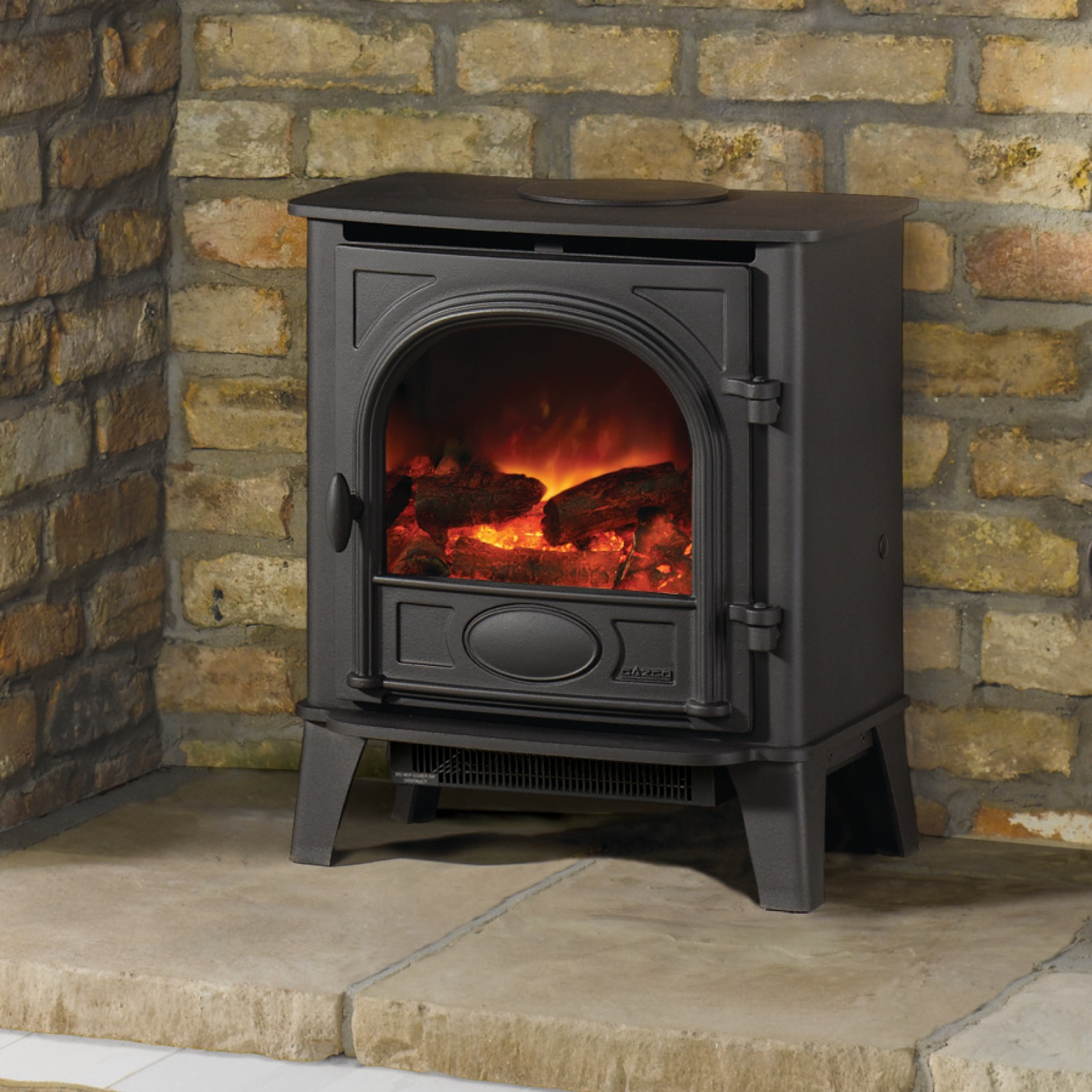 gazco stockton 5 electric stove simply stoves. Black Bedroom Furniture Sets. Home Design Ideas