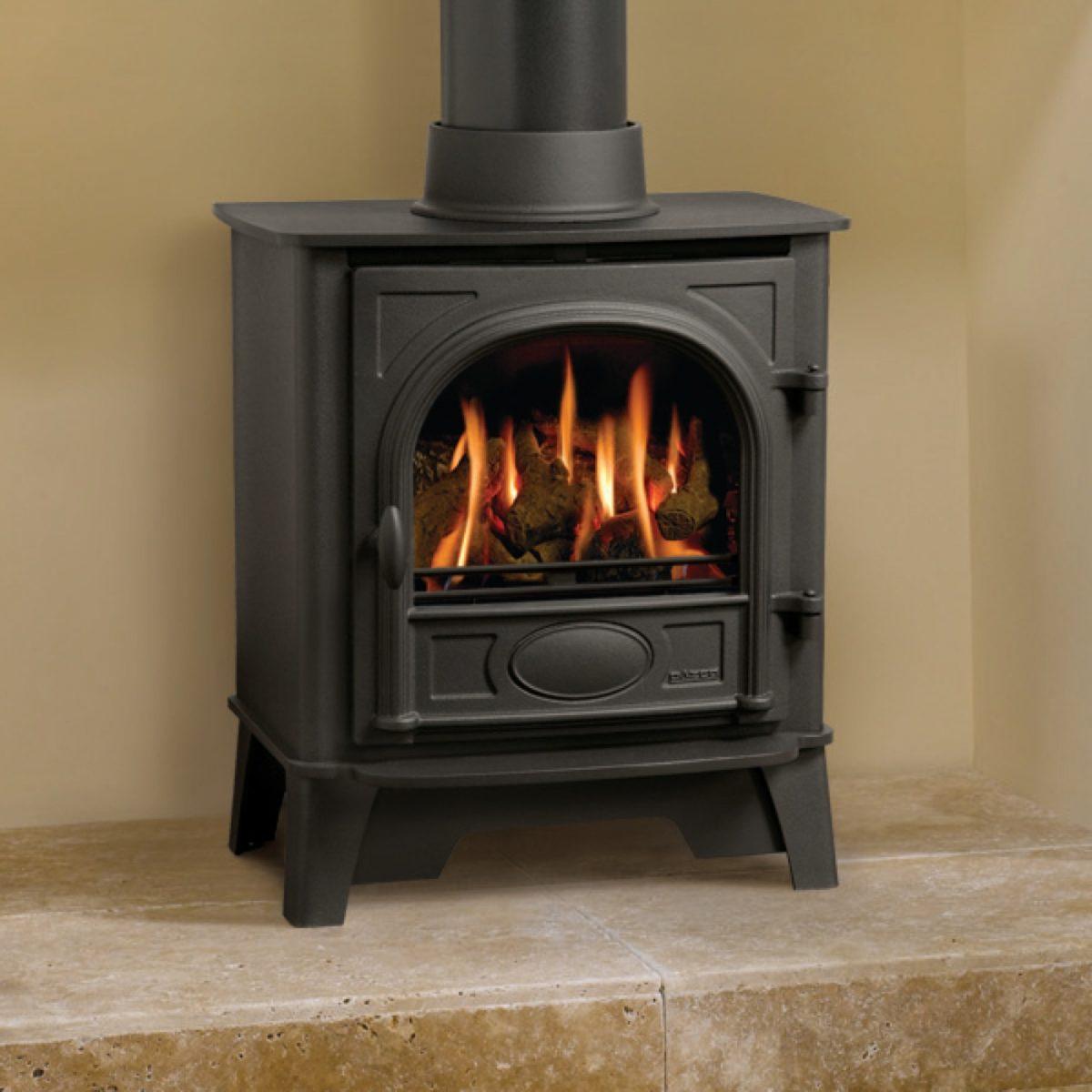 Gazco Stockton 5 Log Effect Natural Gas Balanced Flue