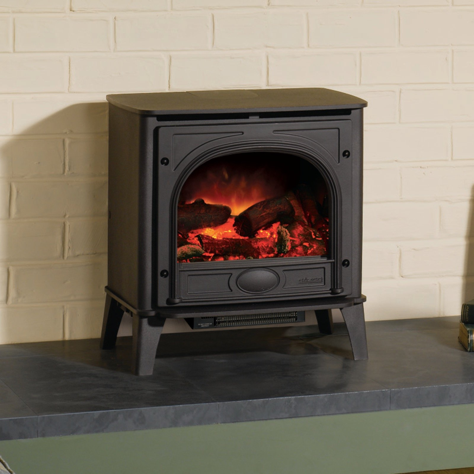 gazco medium stockon electric stove simply stoves. Black Bedroom Furniture Sets. Home Design Ideas