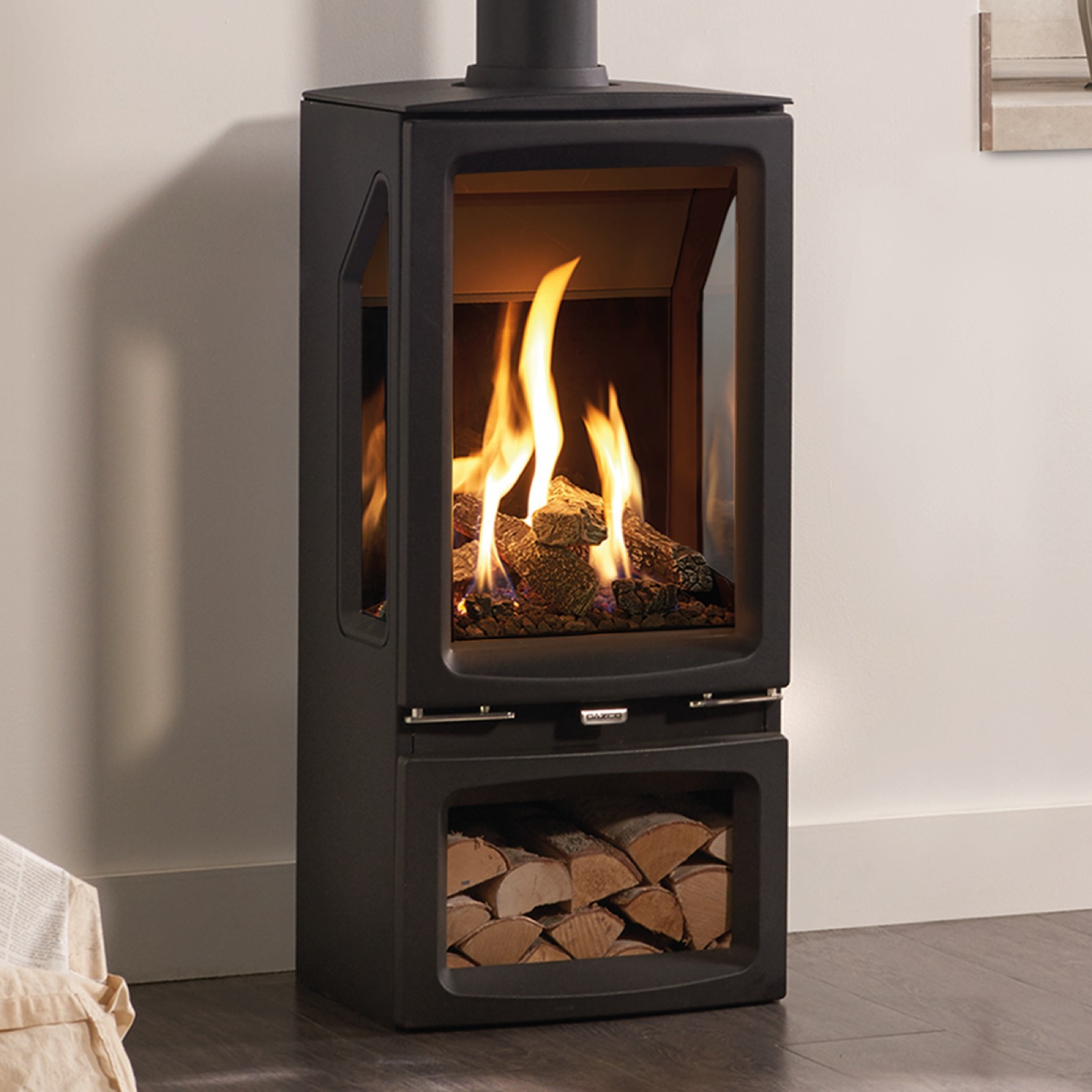 Natural Gas Burning Stove Fireplaces