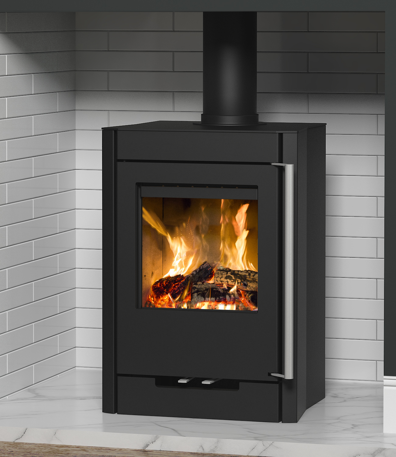 broseley evolution hotspur 5 wood burning stove - simply stoves