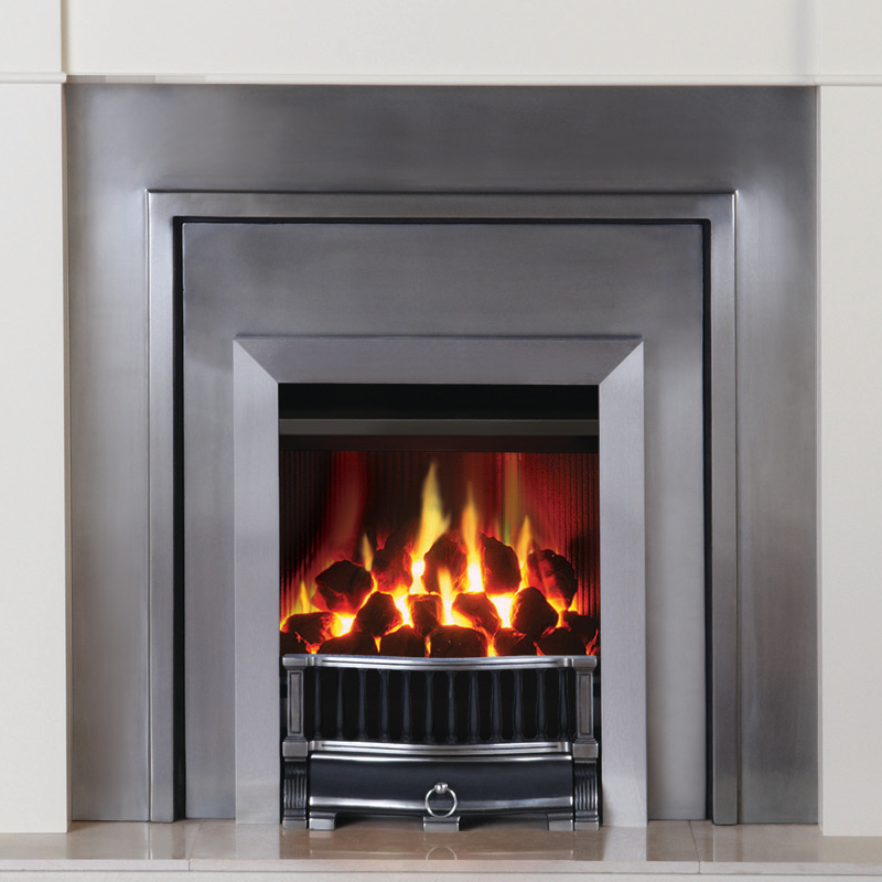 Gazco Logic Convector Inset Gas Fire With Moulded Coals