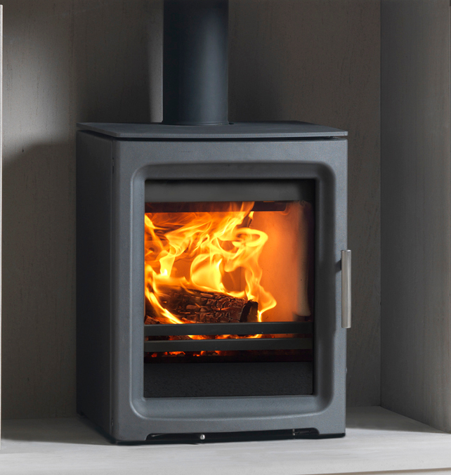 Purevision Pv5 5kw Freestanding Multifuel Stove In