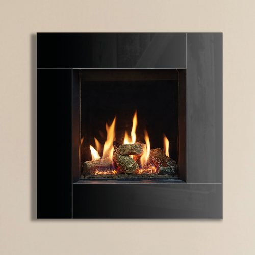 Gazco Riva2 400, Conventional Flue, LPG, Vermiculite Lining, Gas Fire