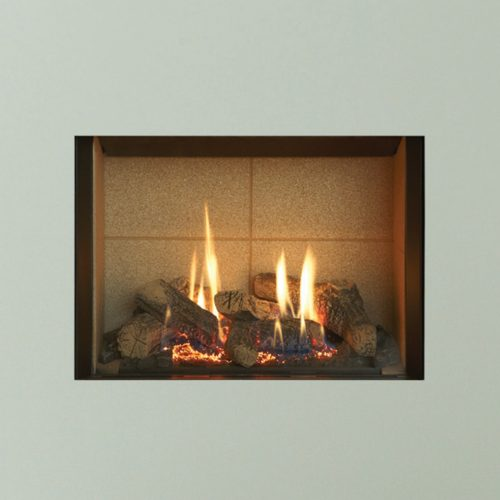 Gazco Riva2 500, Balanced Flue, LPG, Vermiculite Lining, Gas Fire