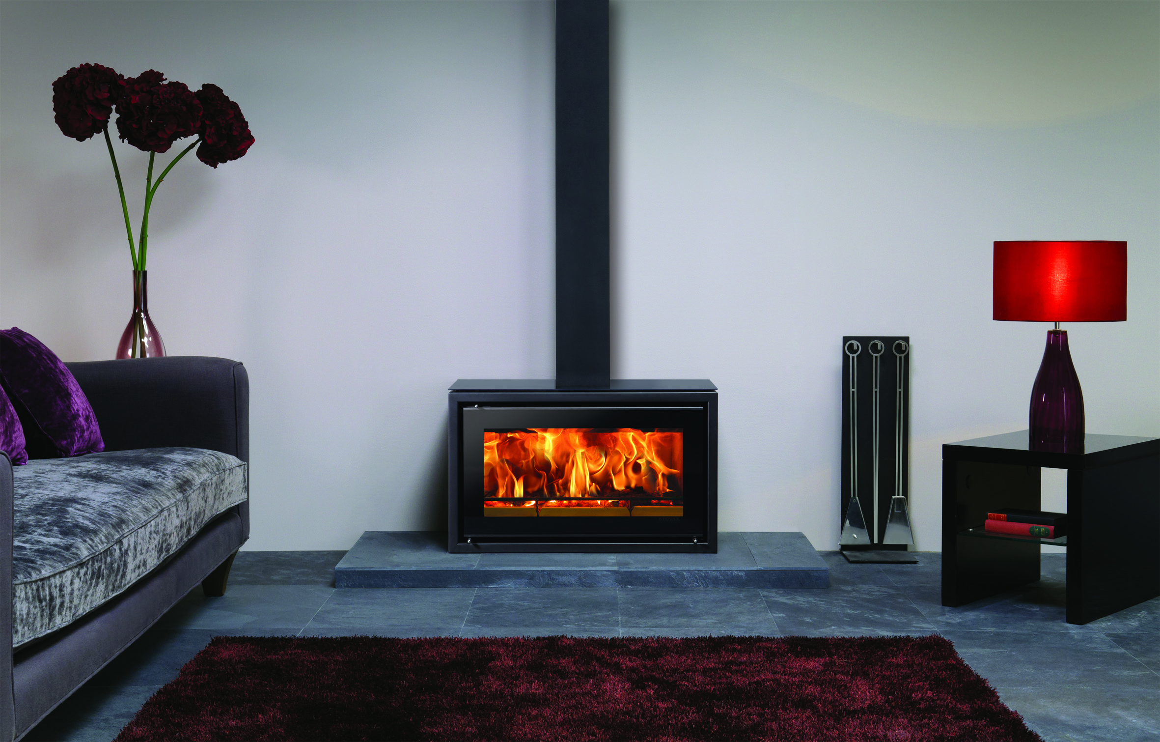 Stovax Riva Studio 1 Freestanding Wood Burning Stove Simply Stoves