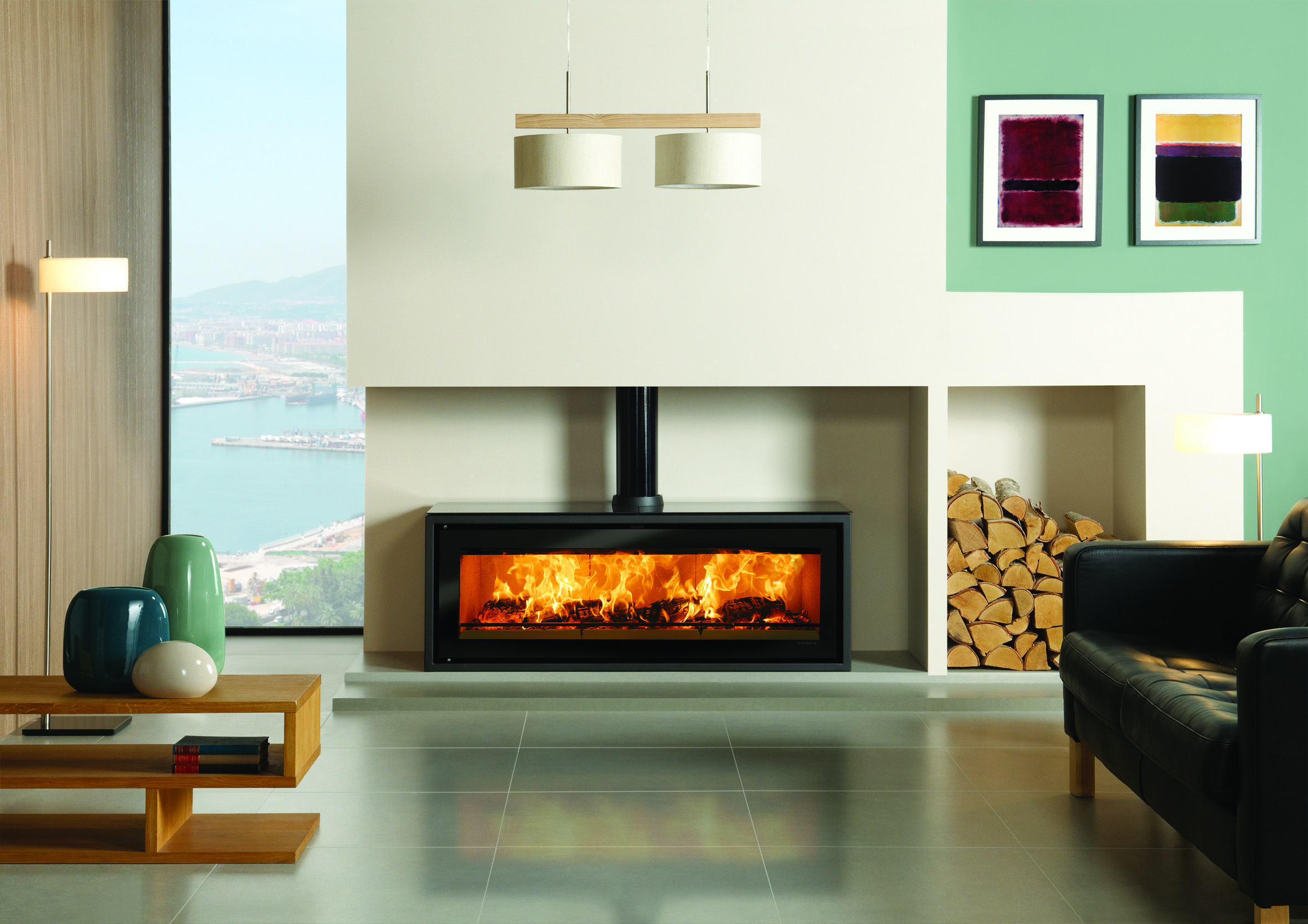 Stovax Riva Studio 3 Freestanding Wood Burning Stove Simply Stoves