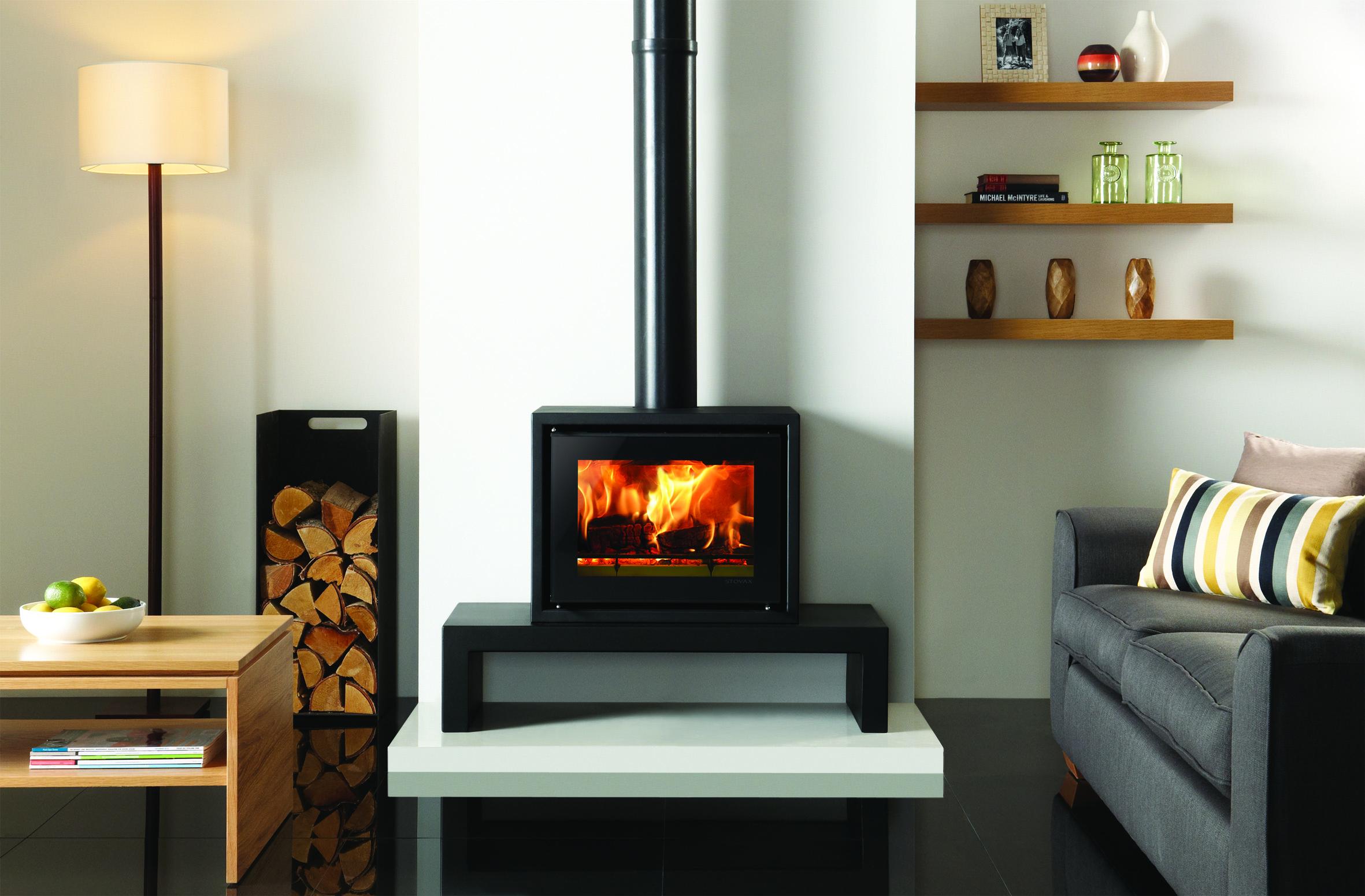 Stovax Riva Studio 500 Freestanding Wood Burning Stove Simply Stoves