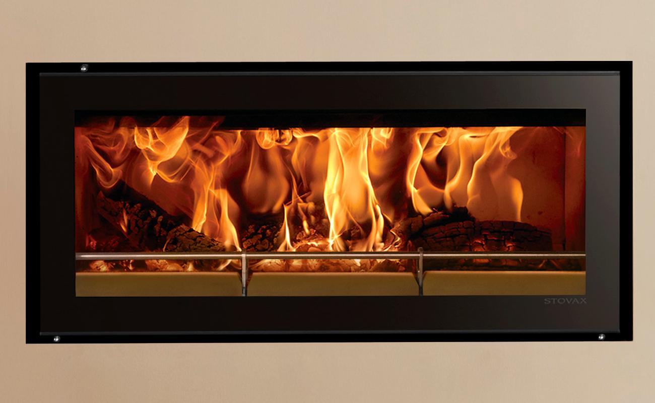 Stovax Riva Studio 2 Inset Cassette Wood Burning Stove