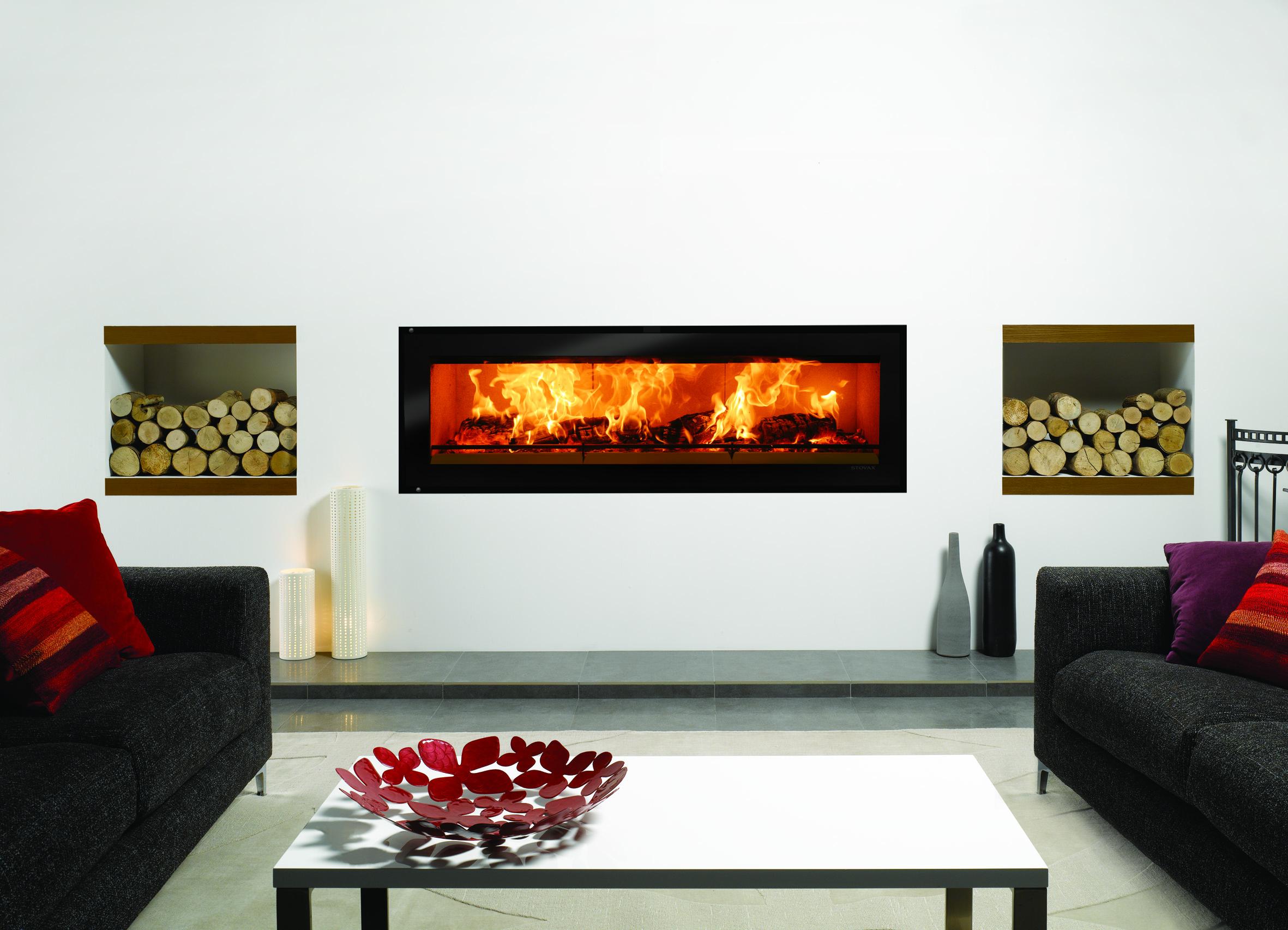 Stovax Riva Studio 3 Inset Cassette Wood Burning Stove