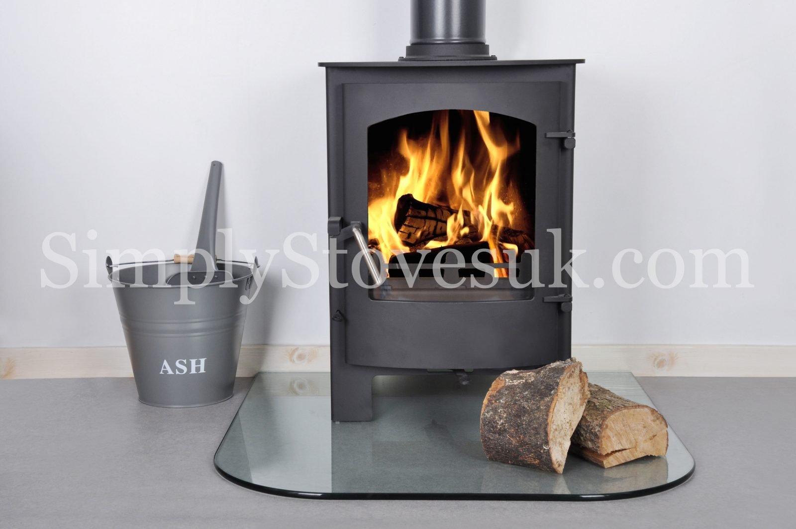 Standard Medium Glass Hearth Floor Plate Simply Stoves