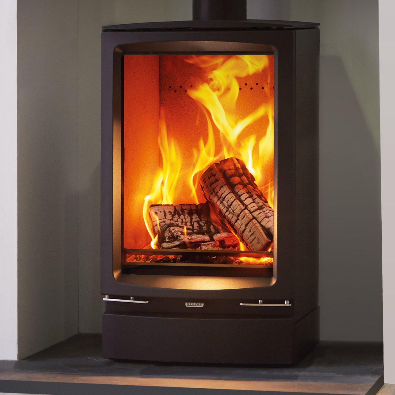 Stovax Vogue Midi T Wood Burning Eco Stove With Cast Iron