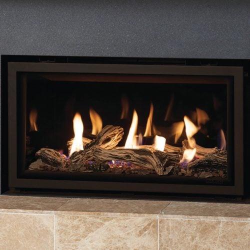 Gazco Studio 1 Glass Fronted Gas Fire, Balanced Flue, LPG