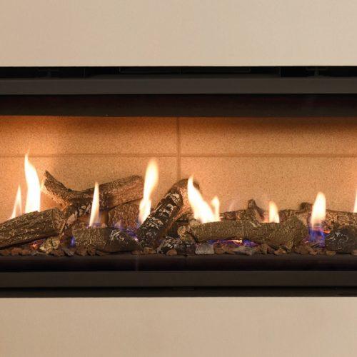 Gazco Studio 2, Conventional Flue, LPG, Glass Fronted Gas Fire