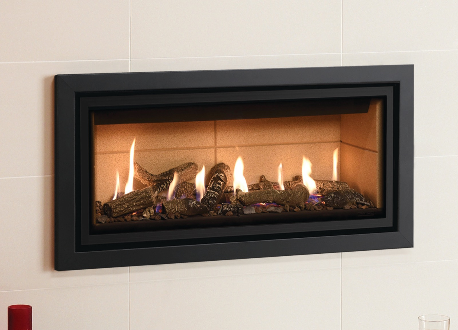 Gazco Profil Front/Frame Only - in Anthracite for Studio 1 Glass Fronted,  Conventional Flue Gas Fire