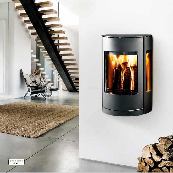 Cool Westfire Uniq 37 Wall Hung Wood Burning Stove Best Image Libraries Counlowcountryjoecom