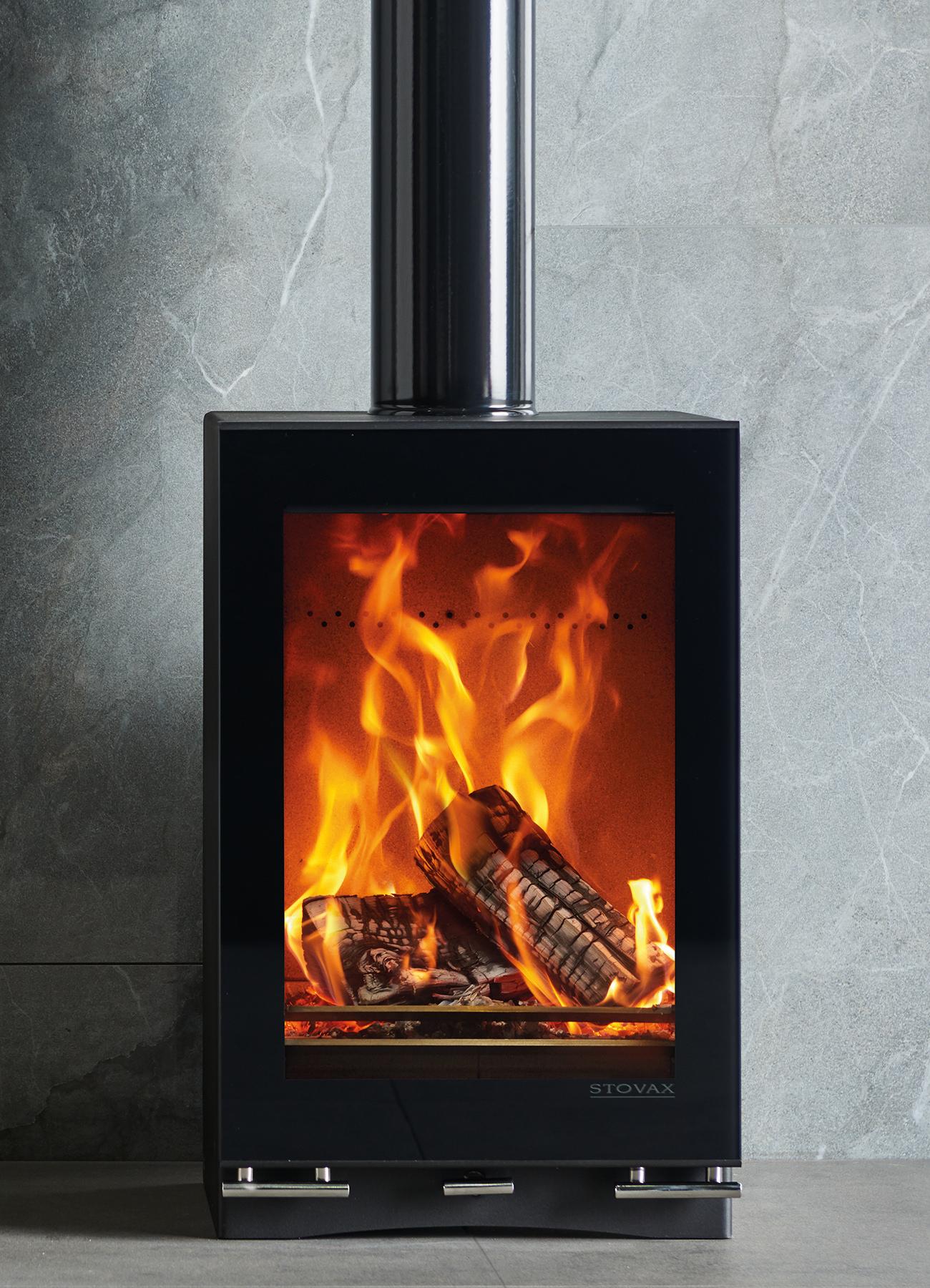 Stovax Riva Vision Midi T Eco Fire Wood Burning Stove