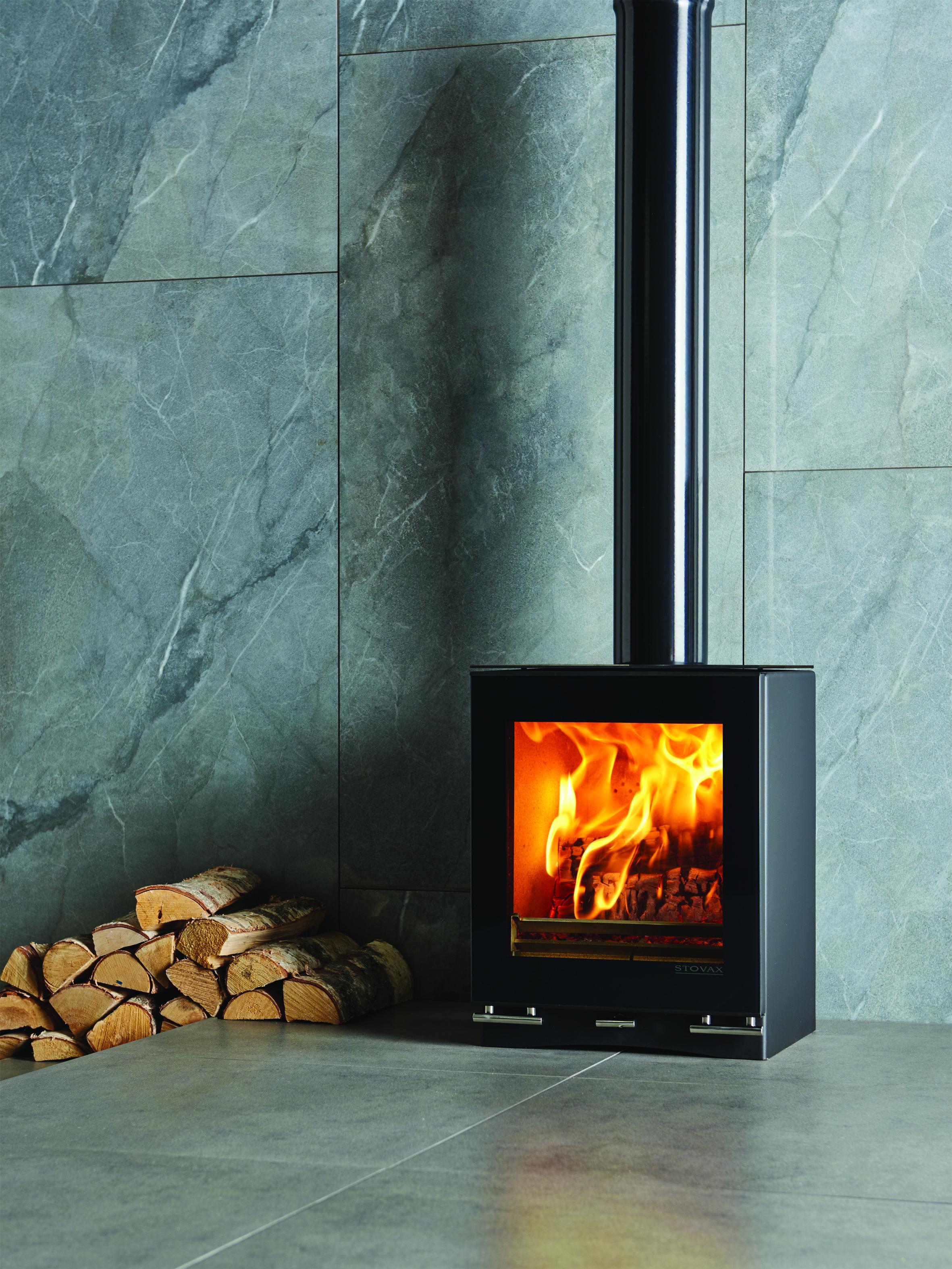 Stovax Riva Vision Small Eco Fire Multi Fuel Stove