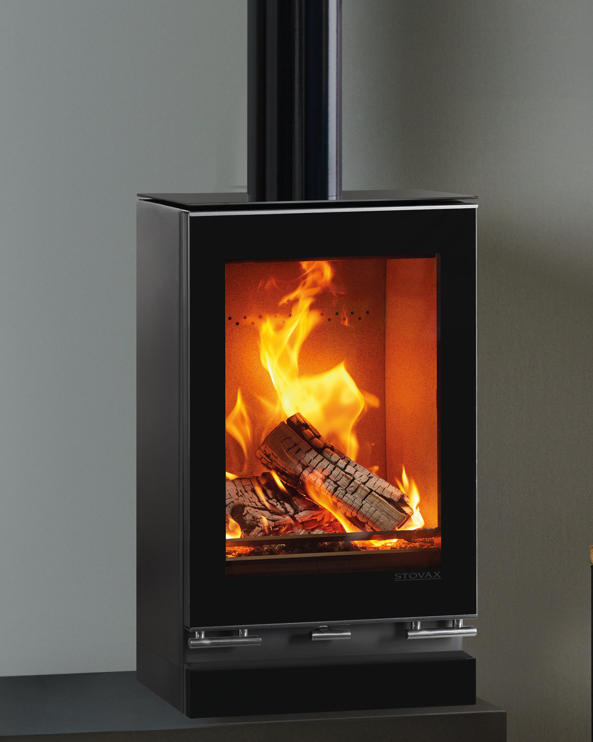Stovax Riva Vision Small T Eco Fire Wood Burning Stove