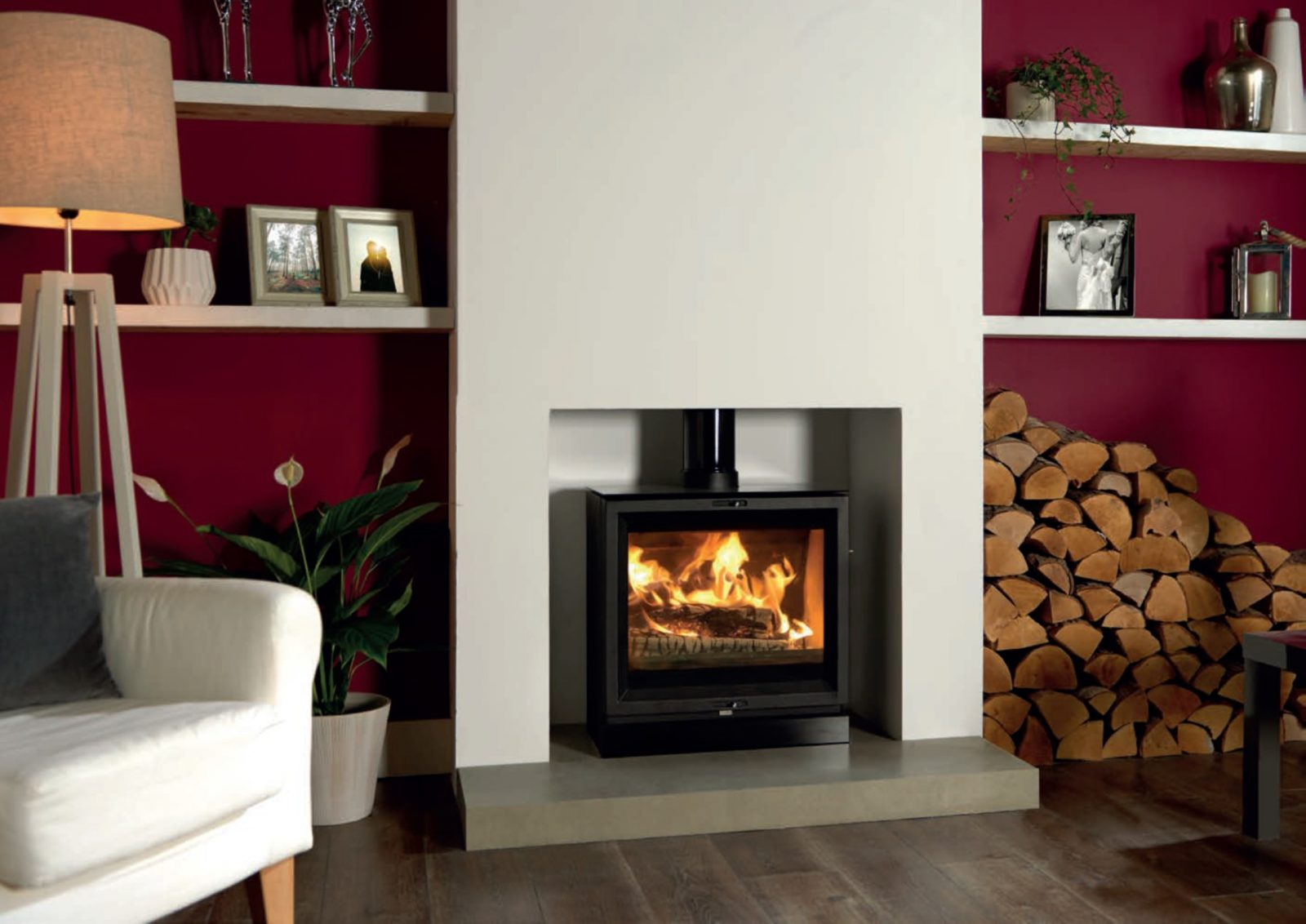 Stovax View 5 Wide Multi Fuel Stove Simply Stoves