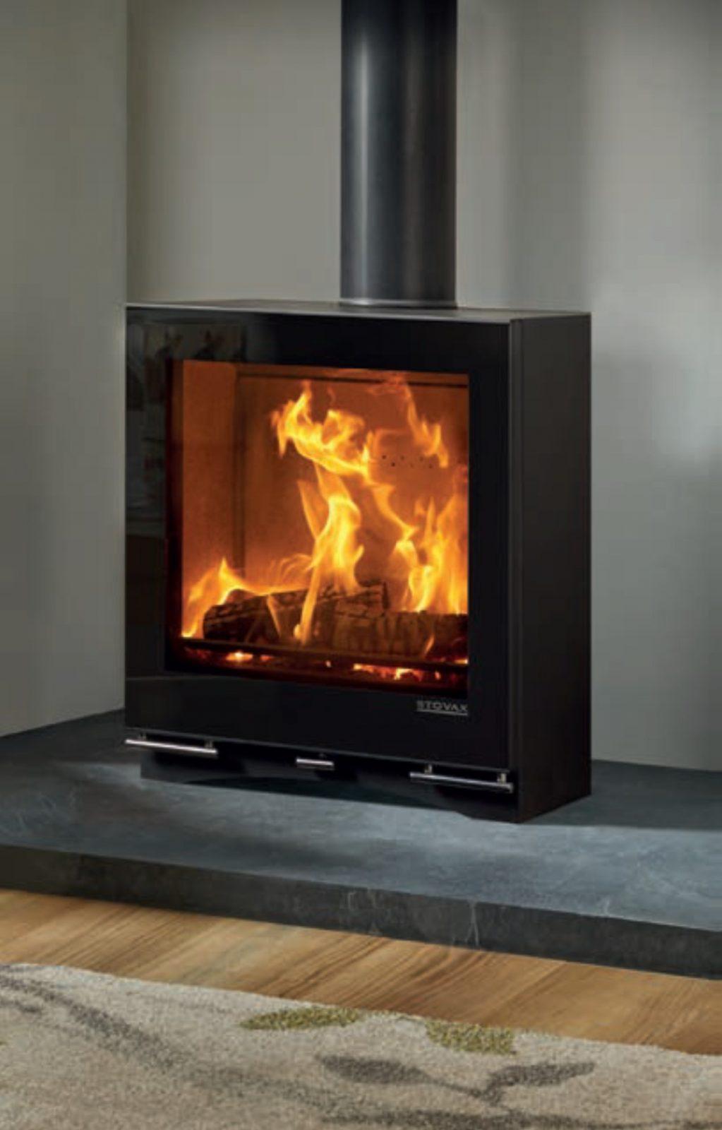 Stovax Riva Vision Medium Slimline Wood Burning Stove