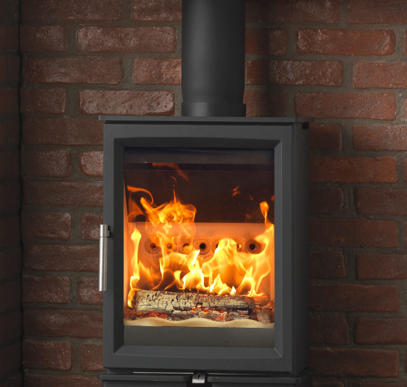 fireline woodtec 5kw woodburning stove - simply stoves