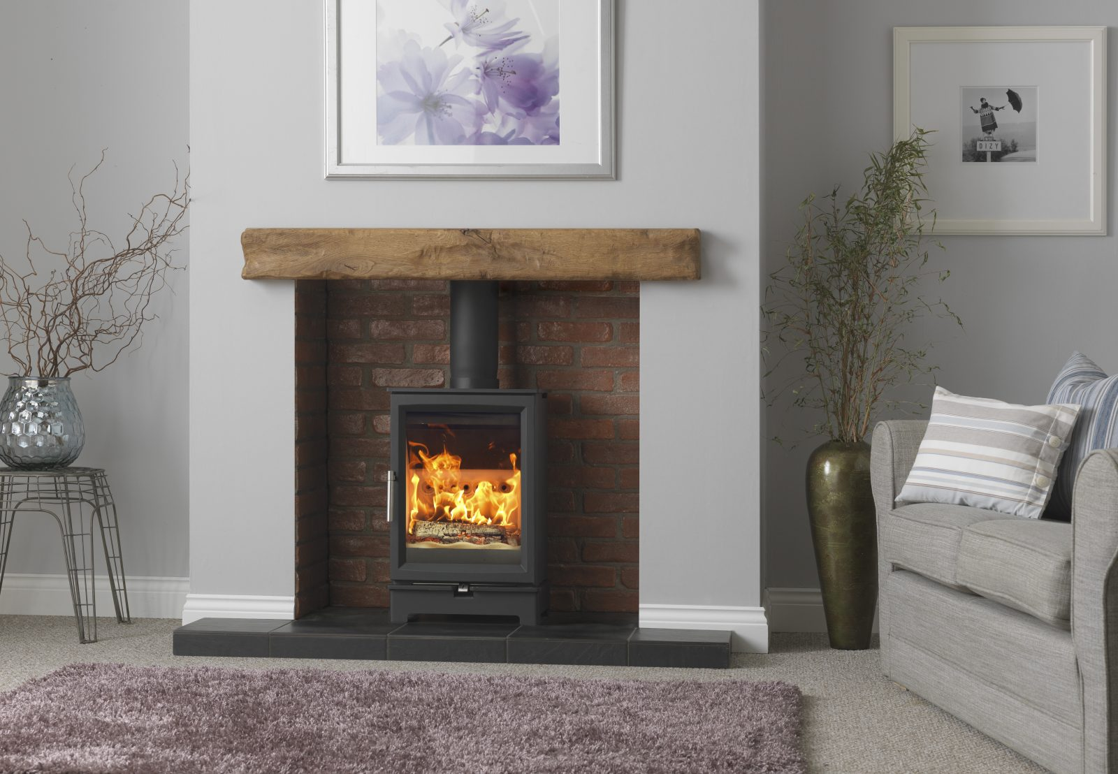 Fireline Woodtec 5kw Woodburning Stove Simply Stoves