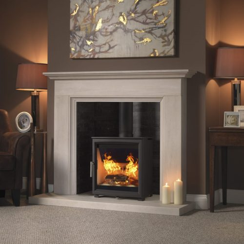 Fireline Woodtec 5kw Extra Wide Woodburning Stove