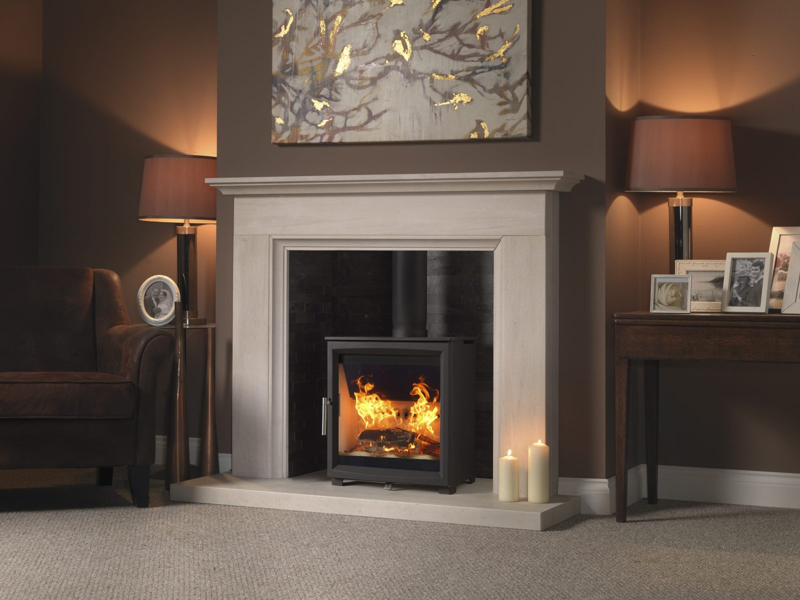Fireline Woodtec 5kw Extra Wide Woodburning Stove Simply